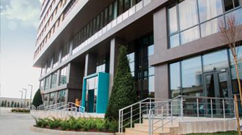 İstanbul 29 Mayıs Üniversitesi Ümraniye Kız Öğrenci Konukevi giriş kapısı