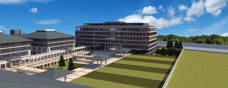 İstanbul 29 Mayıs Üniversitesi Elmalıkent yerleşkesi yukarıdan çekim
