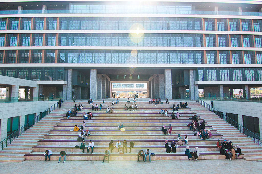 İstanbul 29 Mayıs Üniversitesi Elmalıkent yerleşkesi peyzaj çalışması